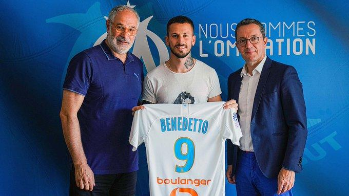 Benedetto es nuevo jugador del Olympique de Marsella
