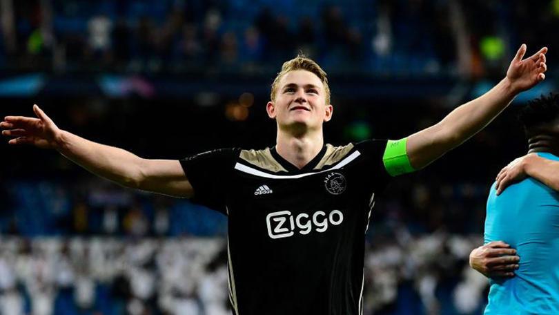 De Ligt era el líder de ese sorprendente Ajax