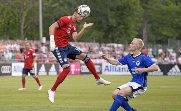 El Bayern encajo una goleada historica