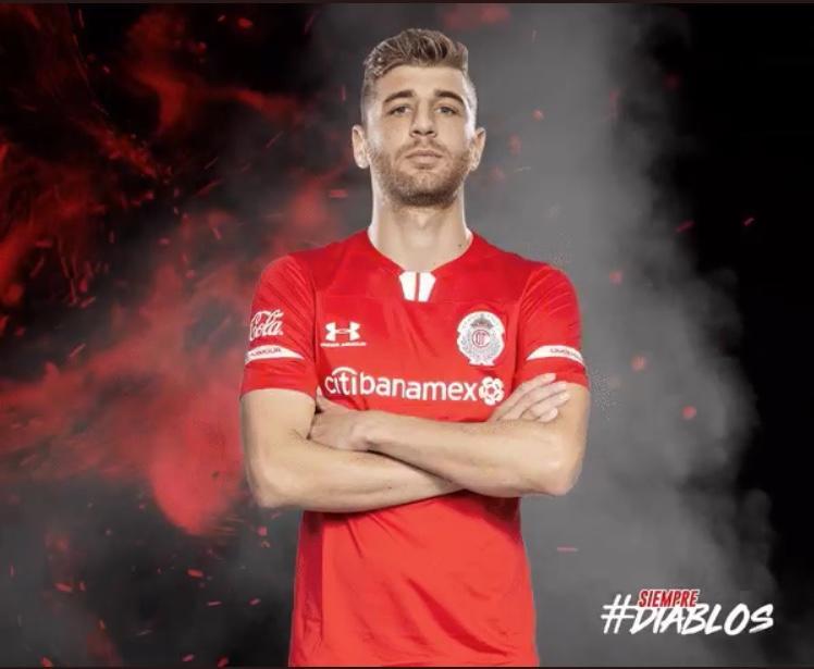 Gastón Syes nuevo jugador del Toluca