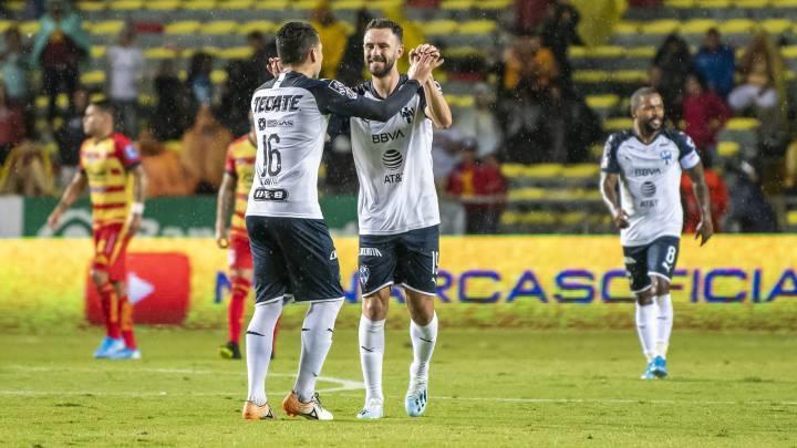 El golazo de Layún que le dio la victoria a Rayados ante Morelia