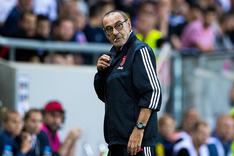 Maurizio Sarri ve a Dybala fuera de la Juventus