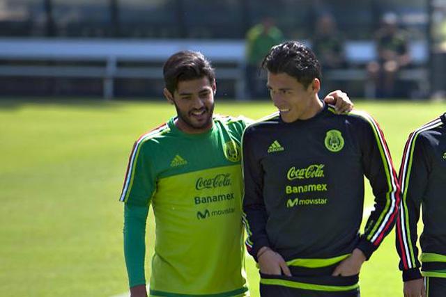Carlos Vela y Héctor Moreno
