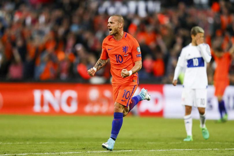 Una carrera llena de títulos tuvo Wesley Sneijder