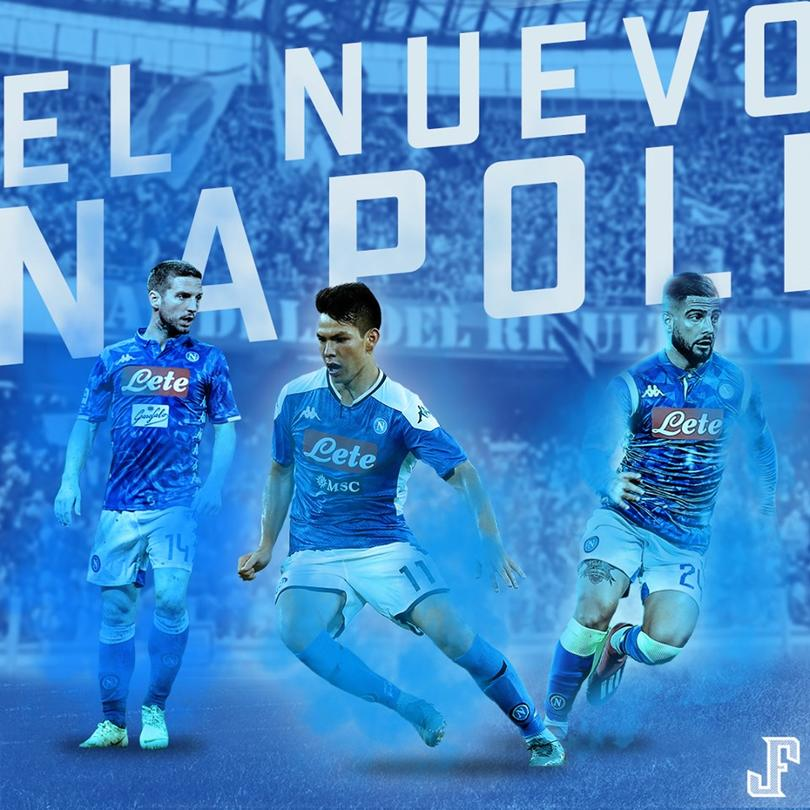 El próximo tridente del Napoli