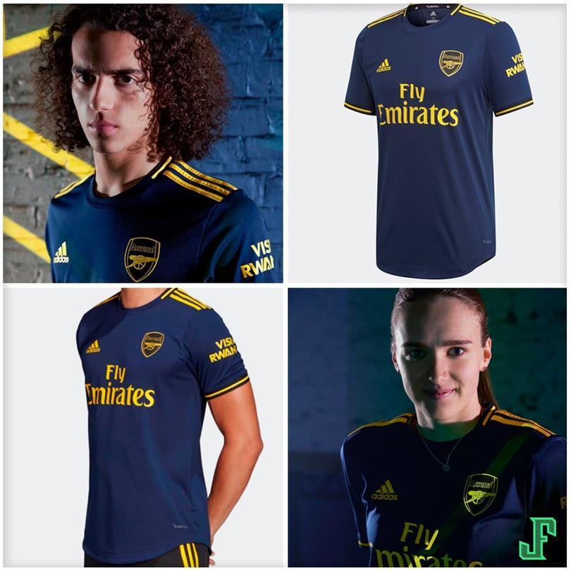 Tercer kit del Arsenal