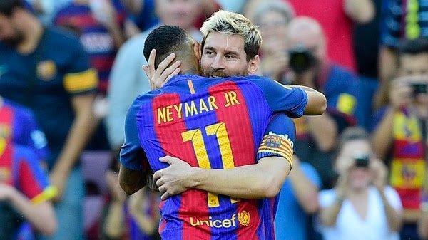Ney y Messi