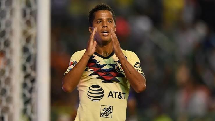 Gio dos Santos es baja del América por lesión