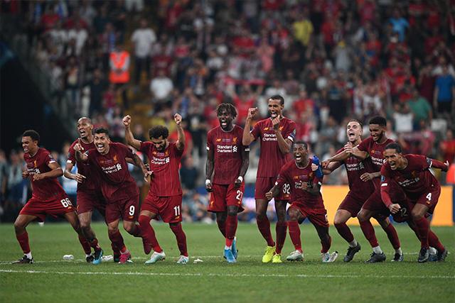 Liverpool se coronó en la Supercopa de la UEFA