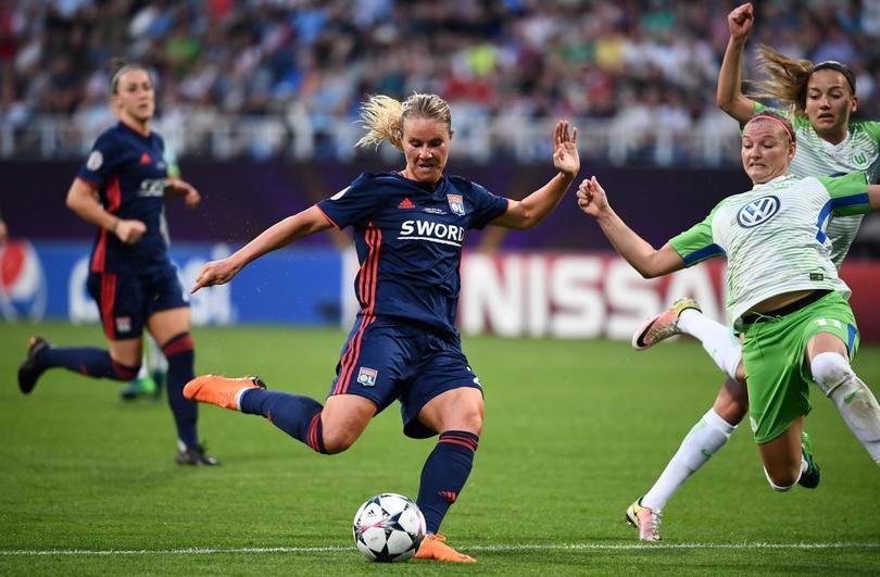 Amandine Henry en la Ligue 1 femenil
