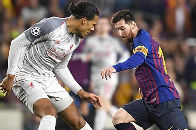 Messi y Van Dijk quedaron en la terna final de la UEFA