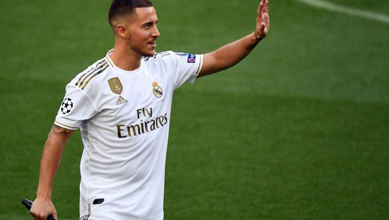 Eden Hazard es baja del Real Madrid por lesión