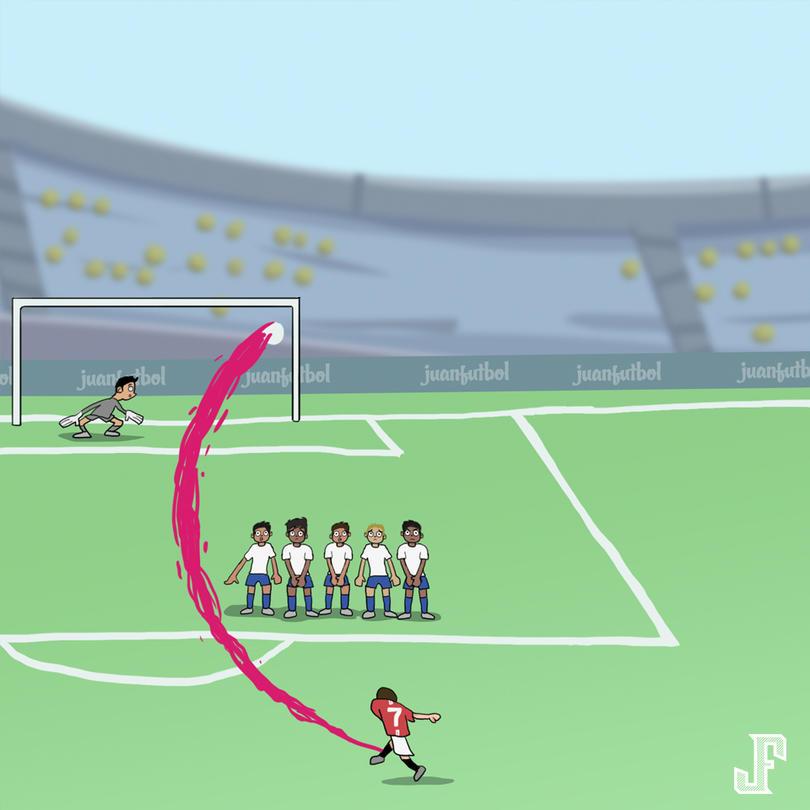 Un 16 de agosto del año 2003, Cristiano debutaba en el Manchester United ?????? aquí uno de los mejores goles... ¿lo recuerdan?