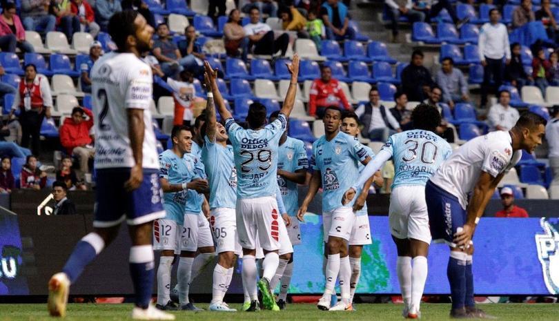 Pachuca vence a Puebla por 4-0