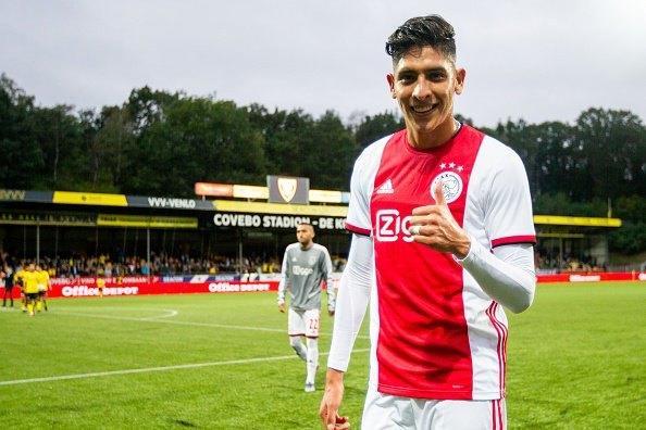 Así reaccionó Edson Álvarez tras debutar con el Ajax