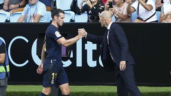 Zidane confirmó la permanencia de Bale
