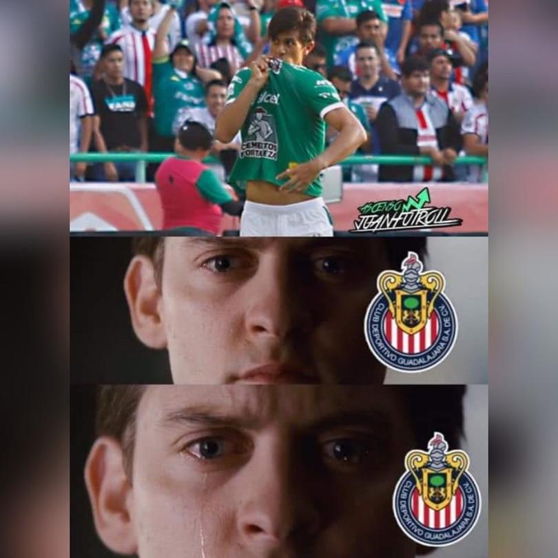 Los memes de la goleada de León a Chivas