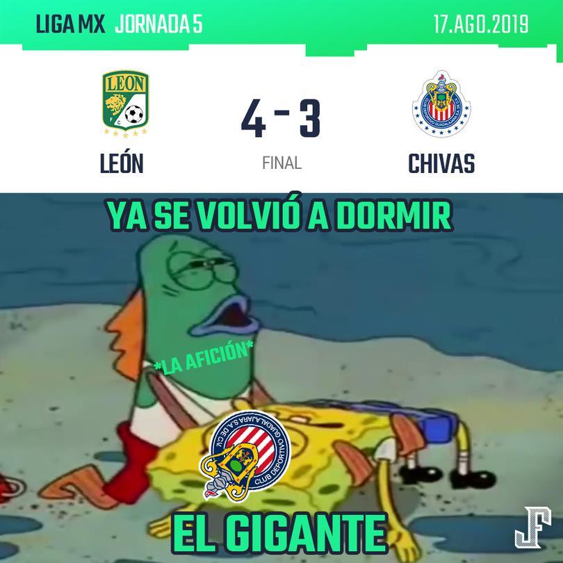 Crónica León vs Chivas