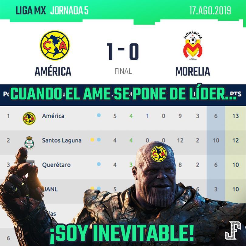 Crónica América 1-0 Monarcas