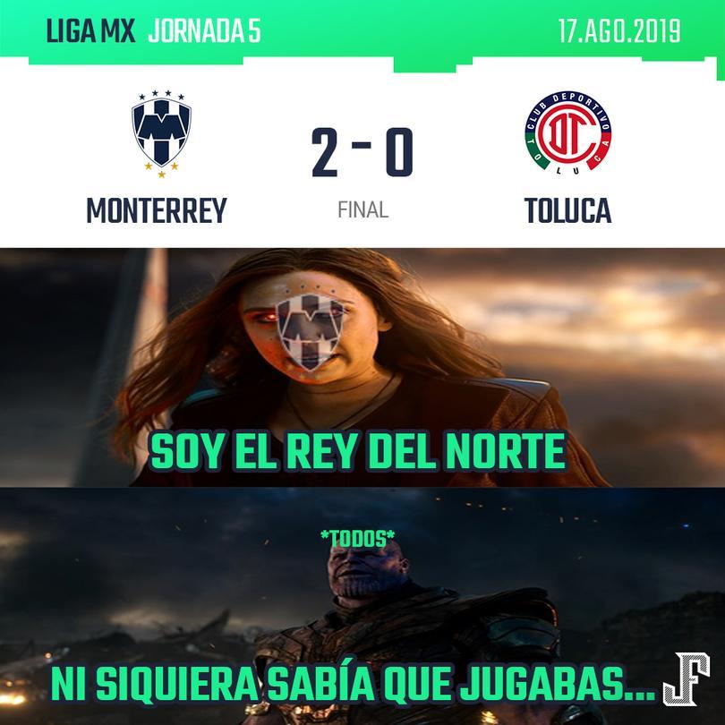 Crónica Rayados 2-0 Toluca