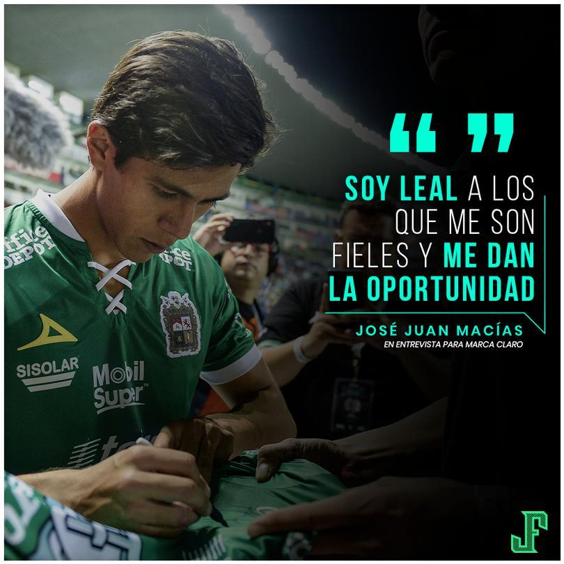 José Juan Macías después del partido contra Chivas