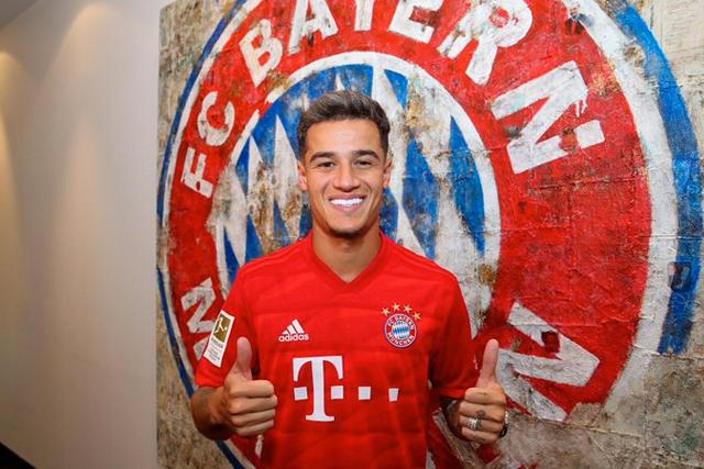 Philippe Coutinho fue presentados como nuevo jugador del Bayern