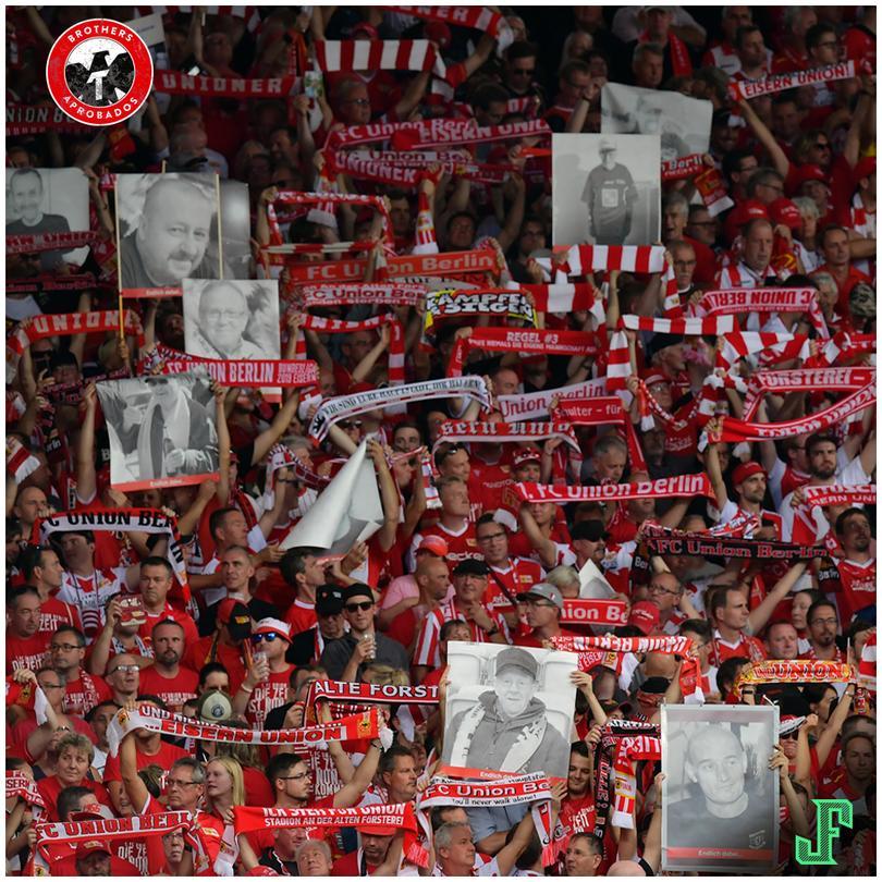 Aficionados del Unión Berlín