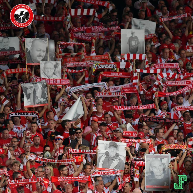 El Unión Berlín homenajeó a sus fans que ya no están.