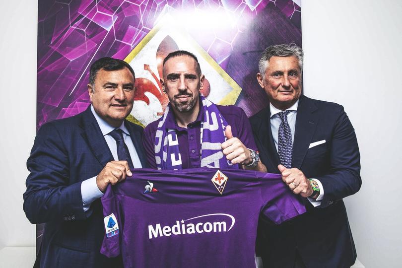 Ribery es nuevo jugador de la Fiorentina