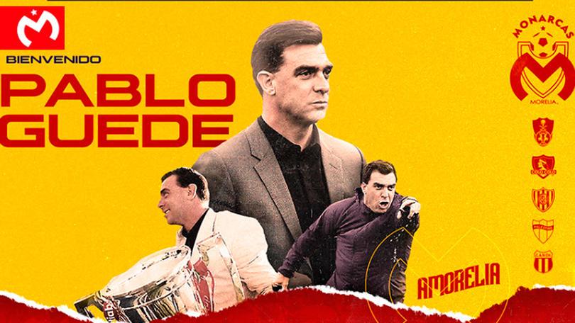 Pablo Guede llega a Morelia