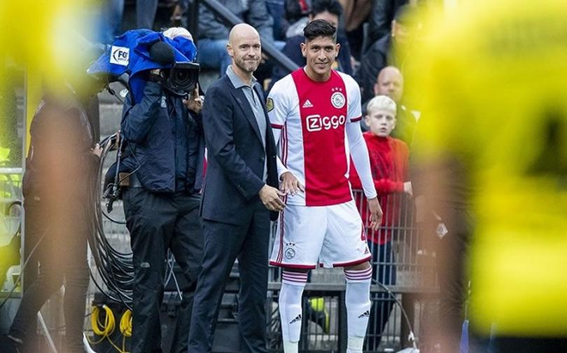 Colocan a Edson Álvarez en el 11 ideal de fichajes en la Eredivisie