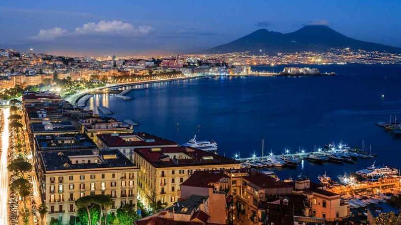 Lozano viviría en Posillipo, zona exclusiva de Nápoles