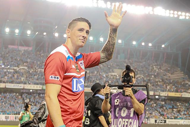 Fernando Torres jugó su último partido como profesional
