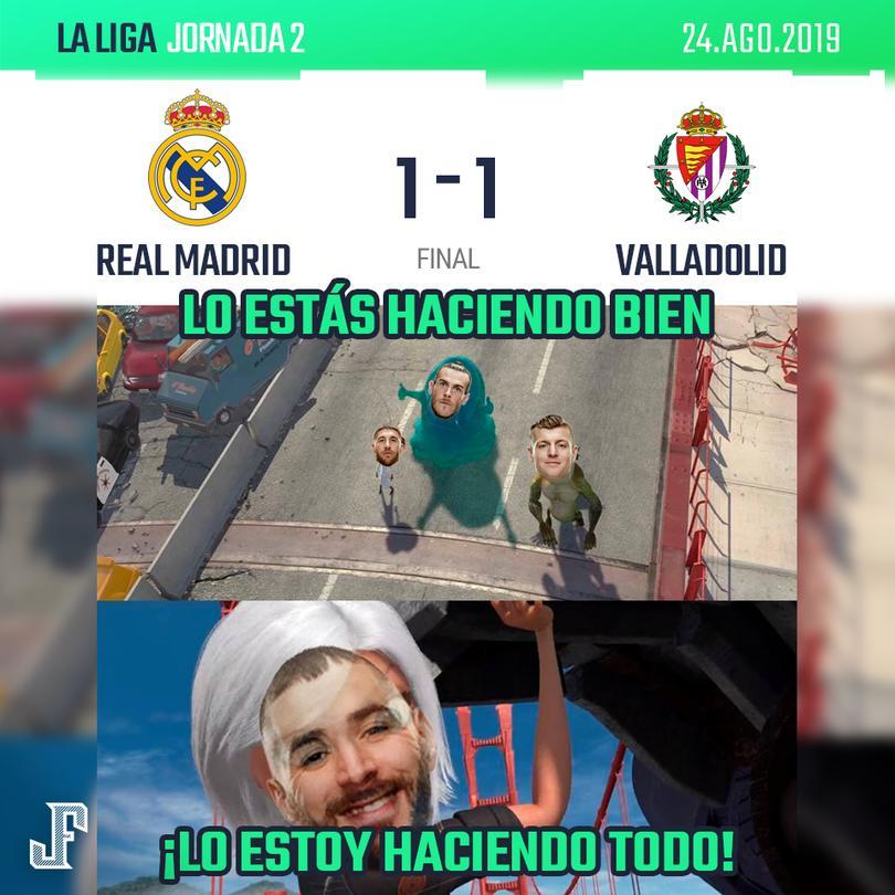 Benzema otra vez cumplió