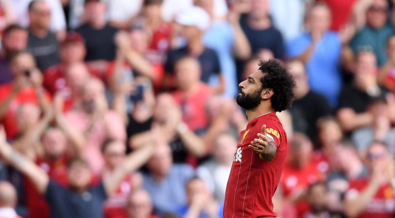 Mo Salah puso el segundo a través de un penal