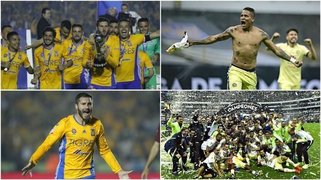 Tigres y América han disputado grandes encuentros en finales