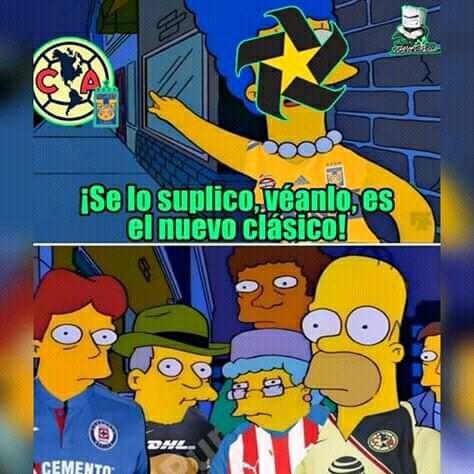 Los mejores memes del Tigres vs América