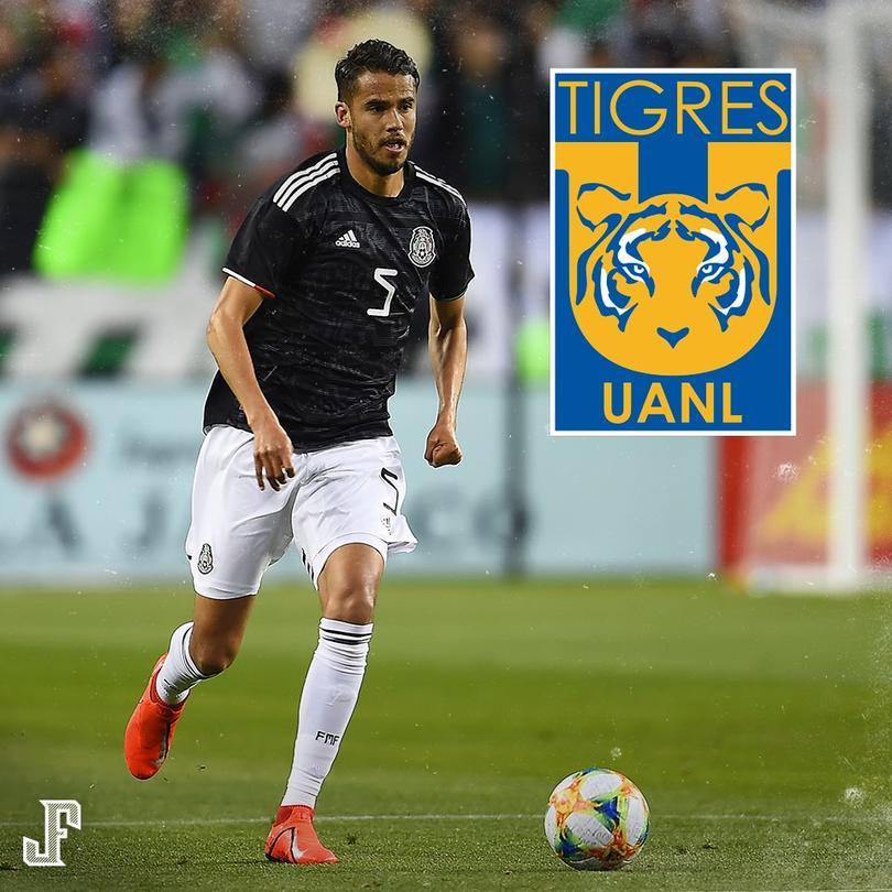 Diego Reyes es nuevo jugador de Tigres, el mexicano llegará en la mañana del lunes a firmar su contrato.