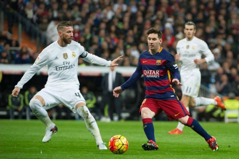Ramos y Messi se enfrentan en un clásico