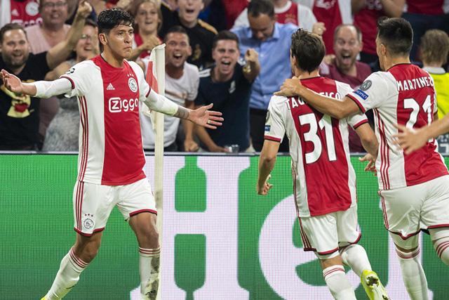 Edson puso adelante al Ajax