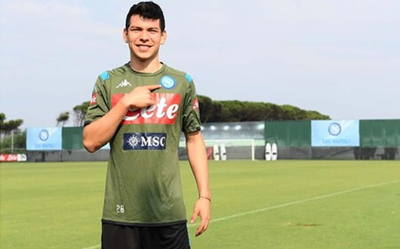 Hirving Lozano podría debutar con Napoli ante Juventus