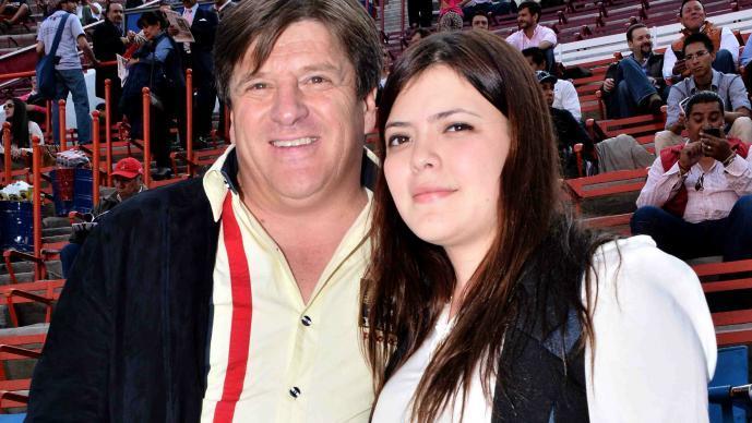 Mishelle Herrera y Miguel Herrera