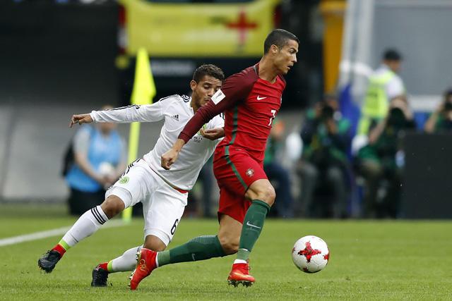 Cristiano Ronaldo ha jugado 37 juegos contra mexicanos y en 26 se llevó el triunfo