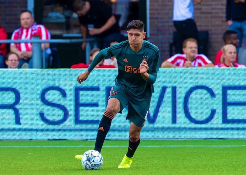 Edson Álvarez debutó en la Eredivisie con Ajax