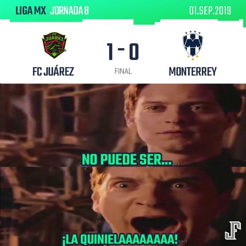 Contra todo pronóstico y con un gol solitario de Darío Lezcano, Juárez le ganó a los Rayados.