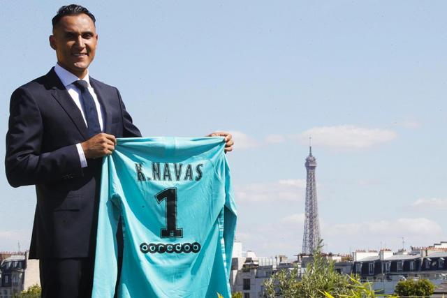 Keylor Navas es nuevo jugador del PSG