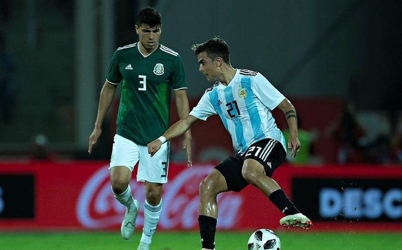 México vs Argentina 2018