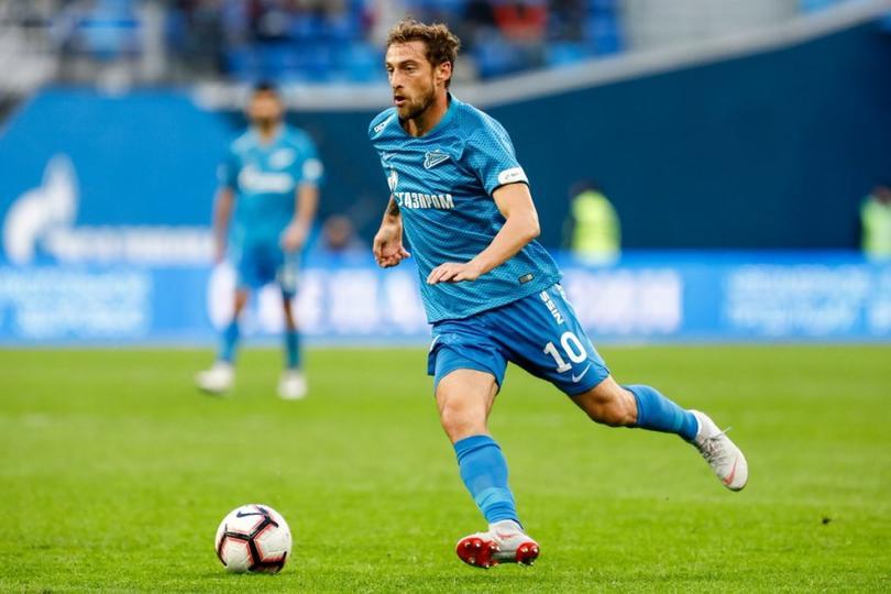 El mediocampista italiano, termino su vinculo con el Zenit ruso