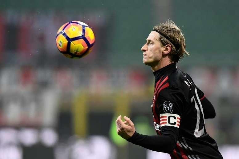 Después de varias temporadas con el Milan, Abate salio de la institución