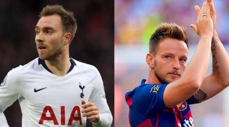 La Juve tiene en la mira a Christian Eriksen y a Ivan Rakitic